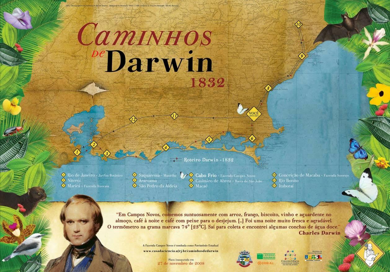 CAMINHOS DE DARWIN