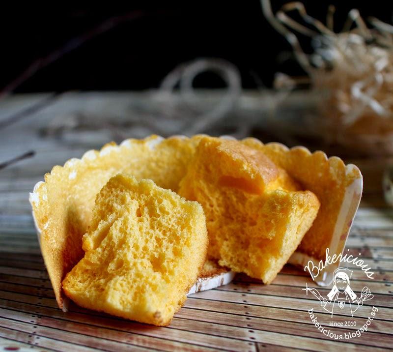 Golden Cheese Chiffon Cake