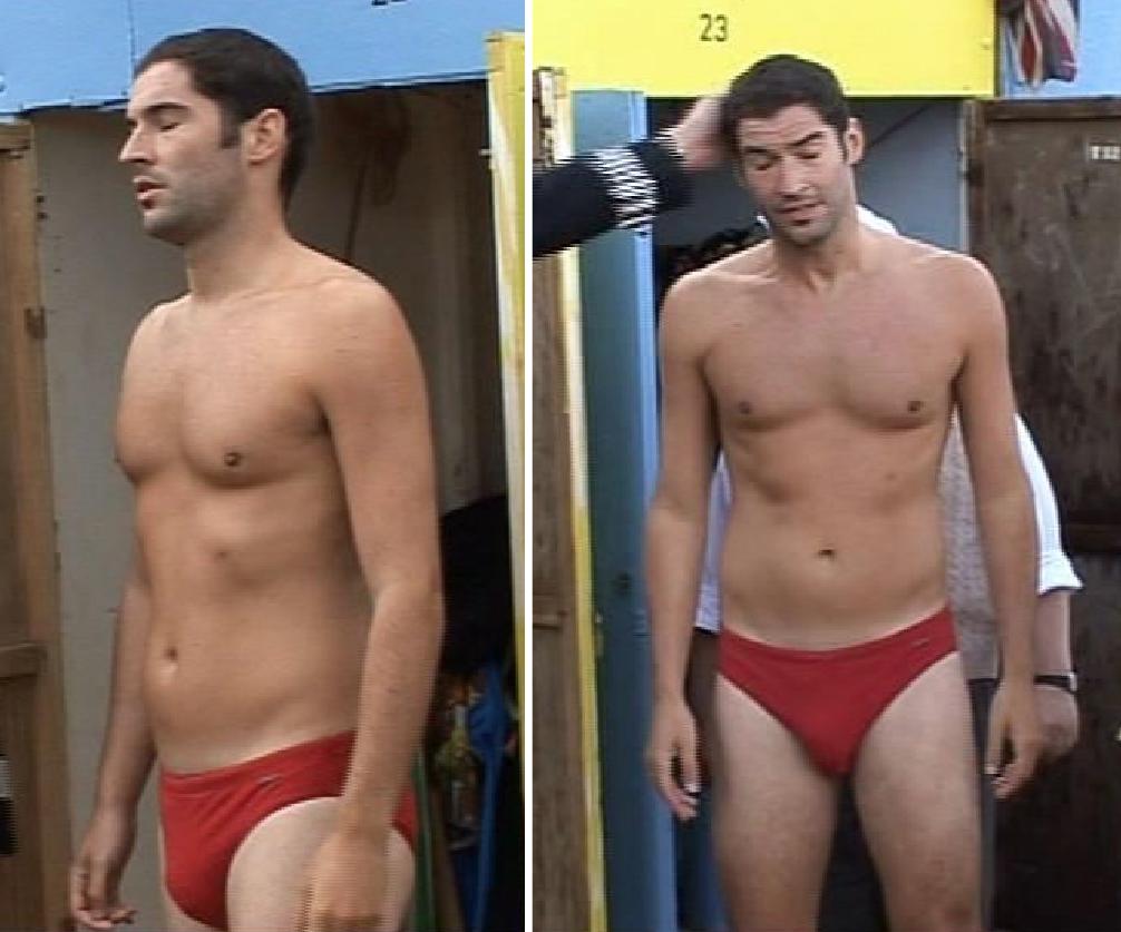 Ass Butt Naked Shirtless Soccer Speedo