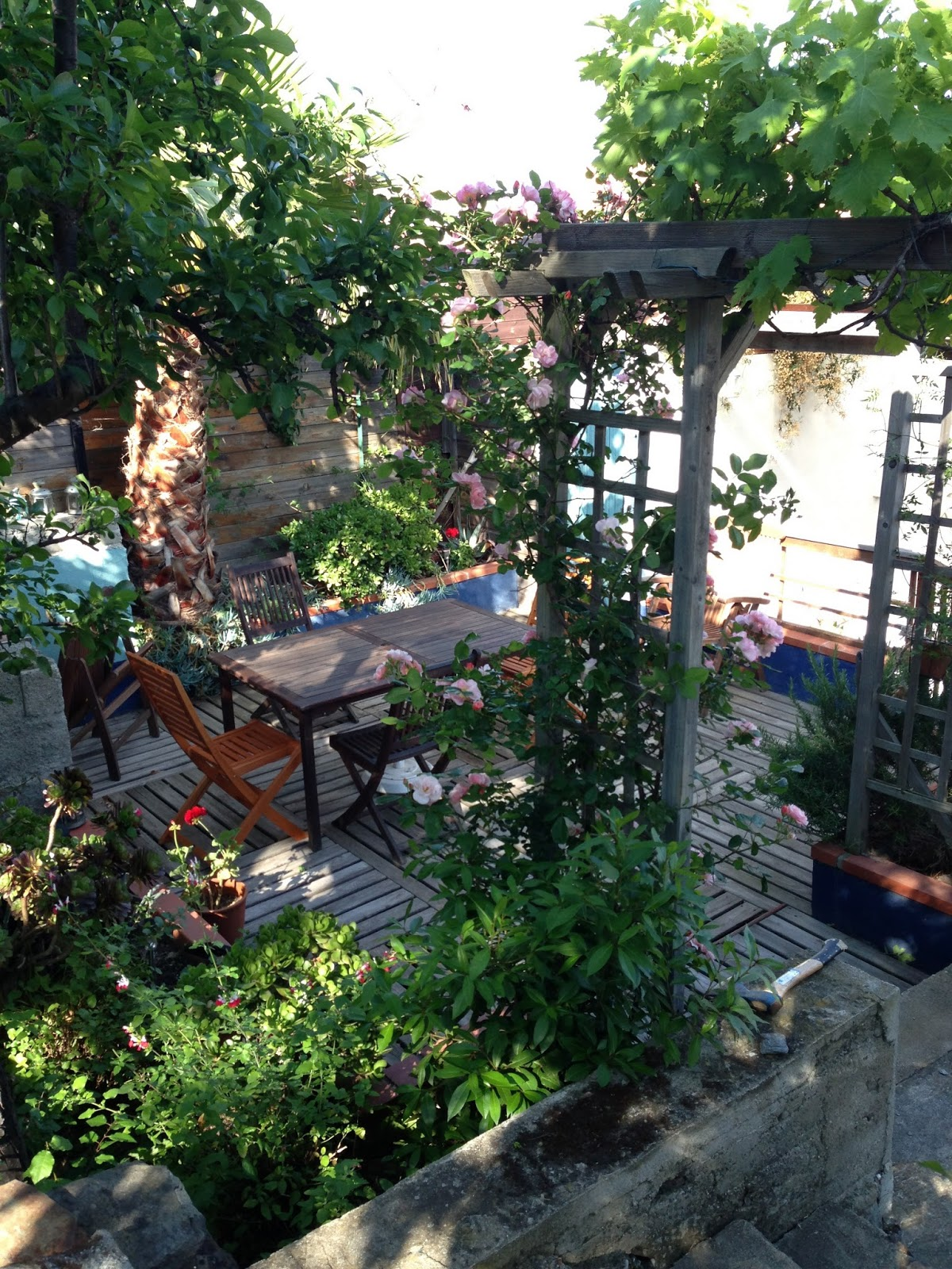 Garden Apartment in Port Vendres, South of France
