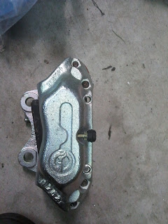 Reconditioned Girling brake caliper Volvo 122S