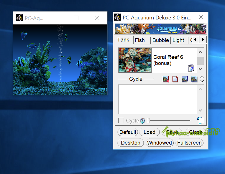 PC Aquarium Deluxe 3.0 - Screen Saver