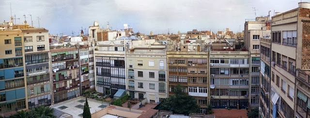 L'Eixample, Barcelona diseño bloque ortogonal