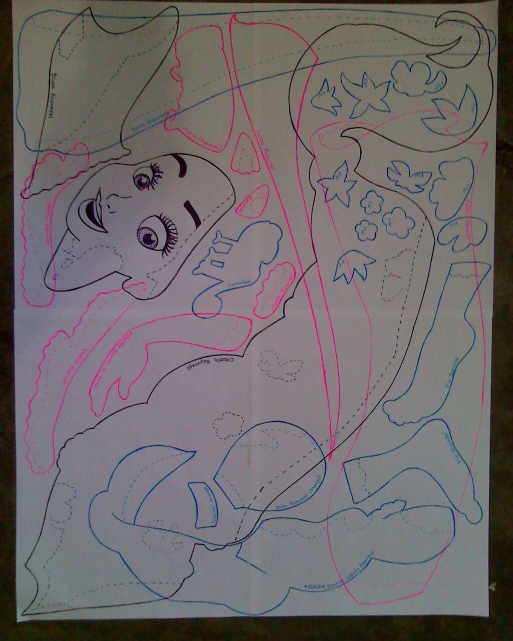 Fofuchas Rapunzel