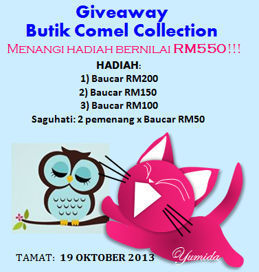 Giveaway Butik Comel Collection