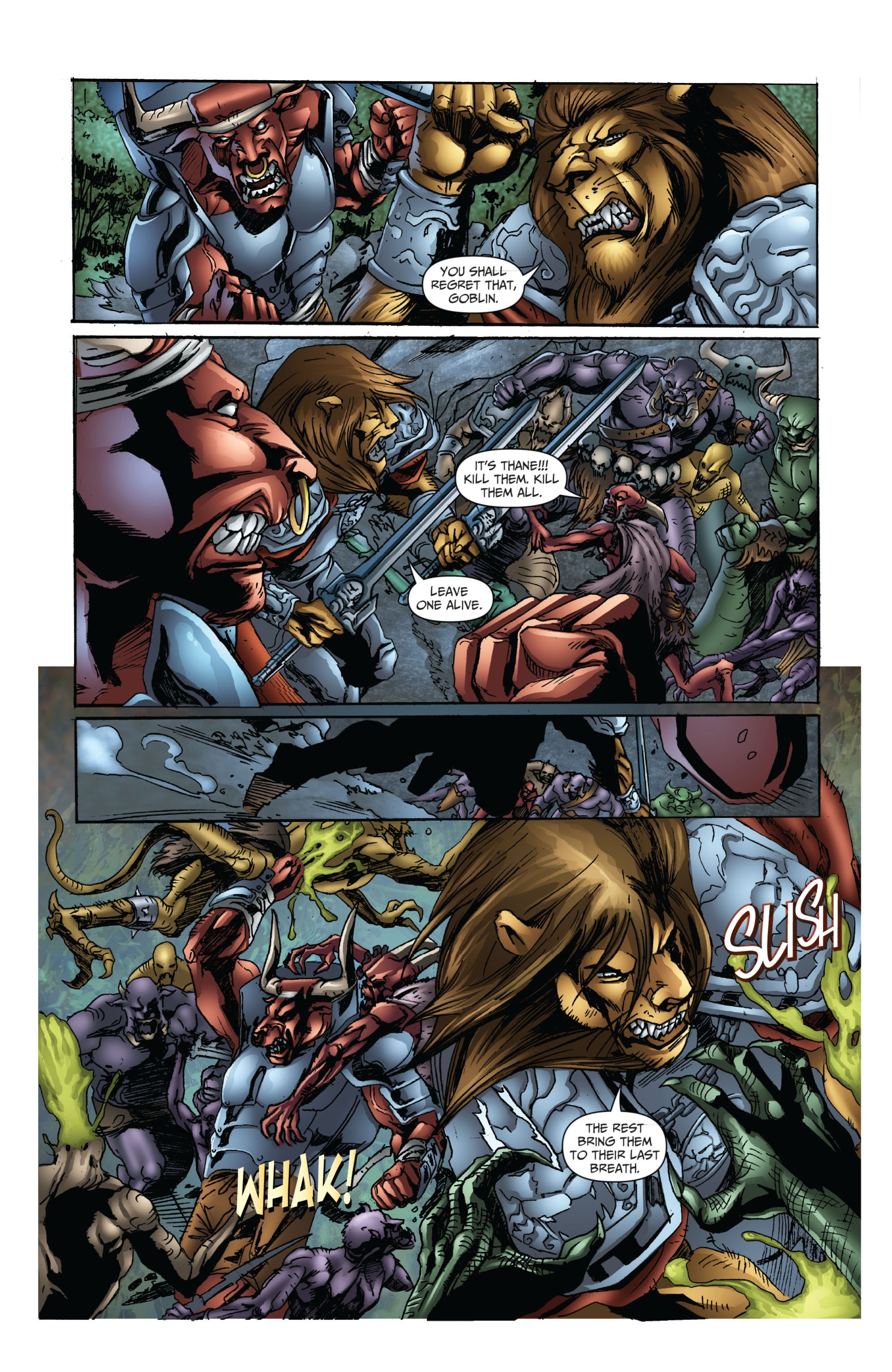 Grimm Fairy Tales (2005) Issue #72 #75 - English 4