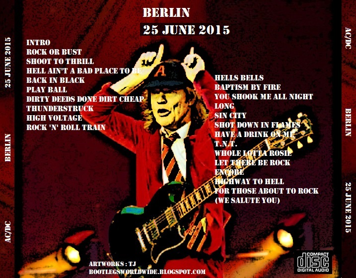 AC/DC - Shot Down In Germany 2015