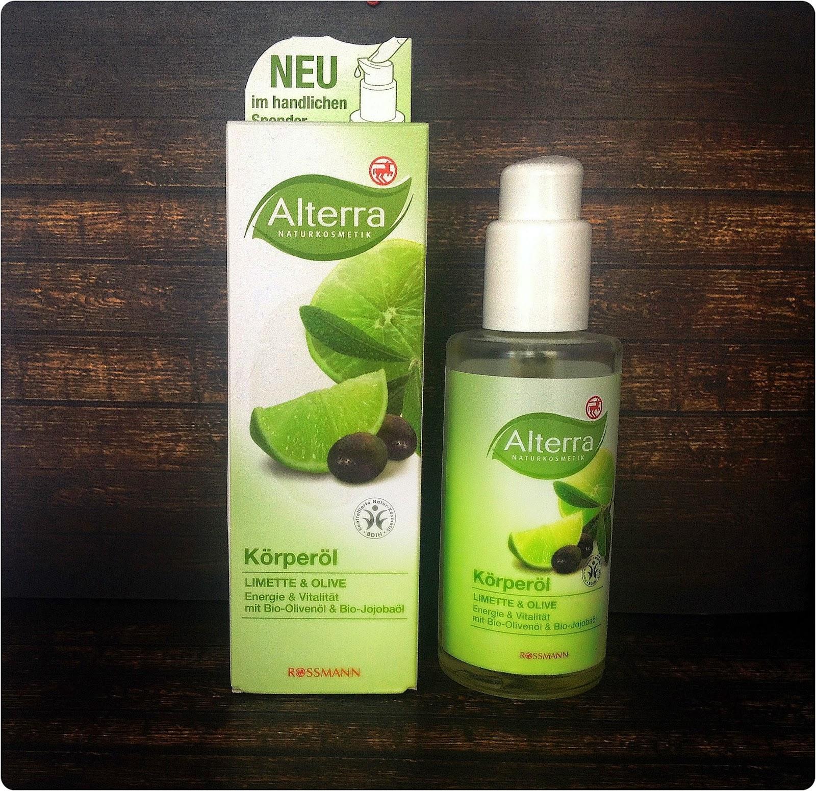 Alterra – olejek limonka i oliwka