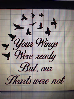 Your Wings Were Ready Quote