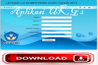 Download 4 ( Empat ) Aplikasi Latihan Soal UKG sebagai bahan dan refrensi latihn UKG 2015