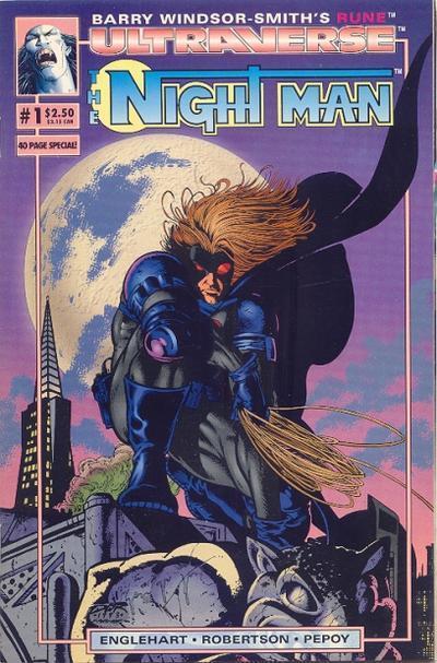 Night Man 1 cover