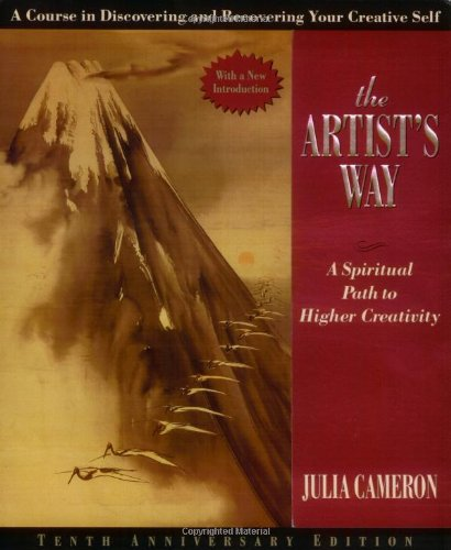 The Artist's Way Book Cover | An Entrepreneur's Spring + Summer Reading List | Book Recommendations | Boone, NC Photographer