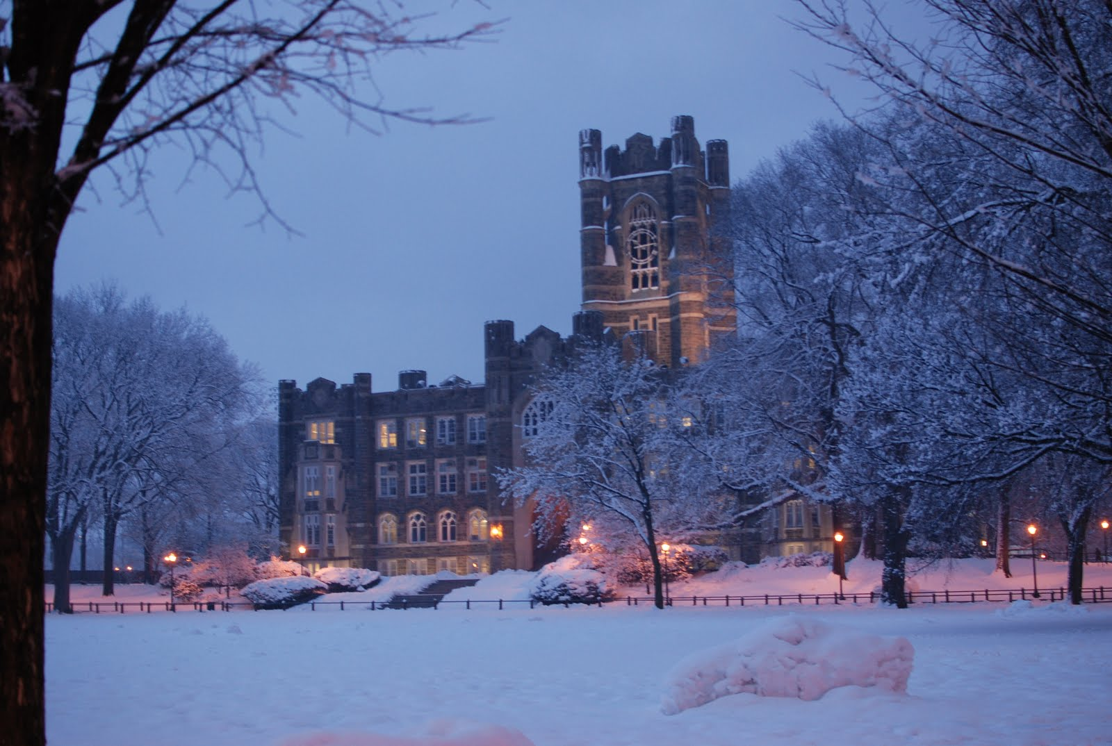 I AM A FORDHAM RAM Fordham University In The Winter