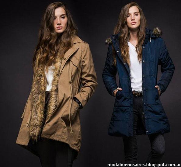 Moda invierno 2015 Giesso Mujer abrigos, blusas, vestidos y pantalones.