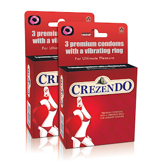 Crezendo Vibrating Ring and Condoms