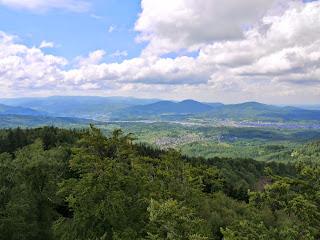 Blick vom Mahlbergturm Richtung Murgtal