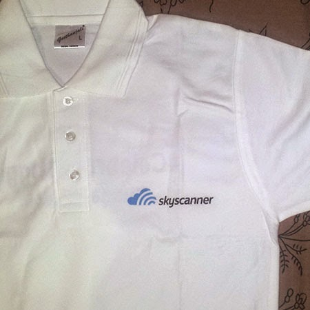 Skyscanner Tee: Day 71 of 100 Happy Days Challenge