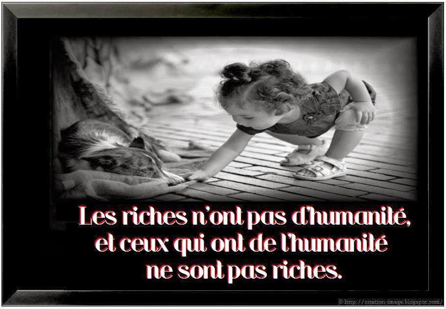 Belle citation humanité en image