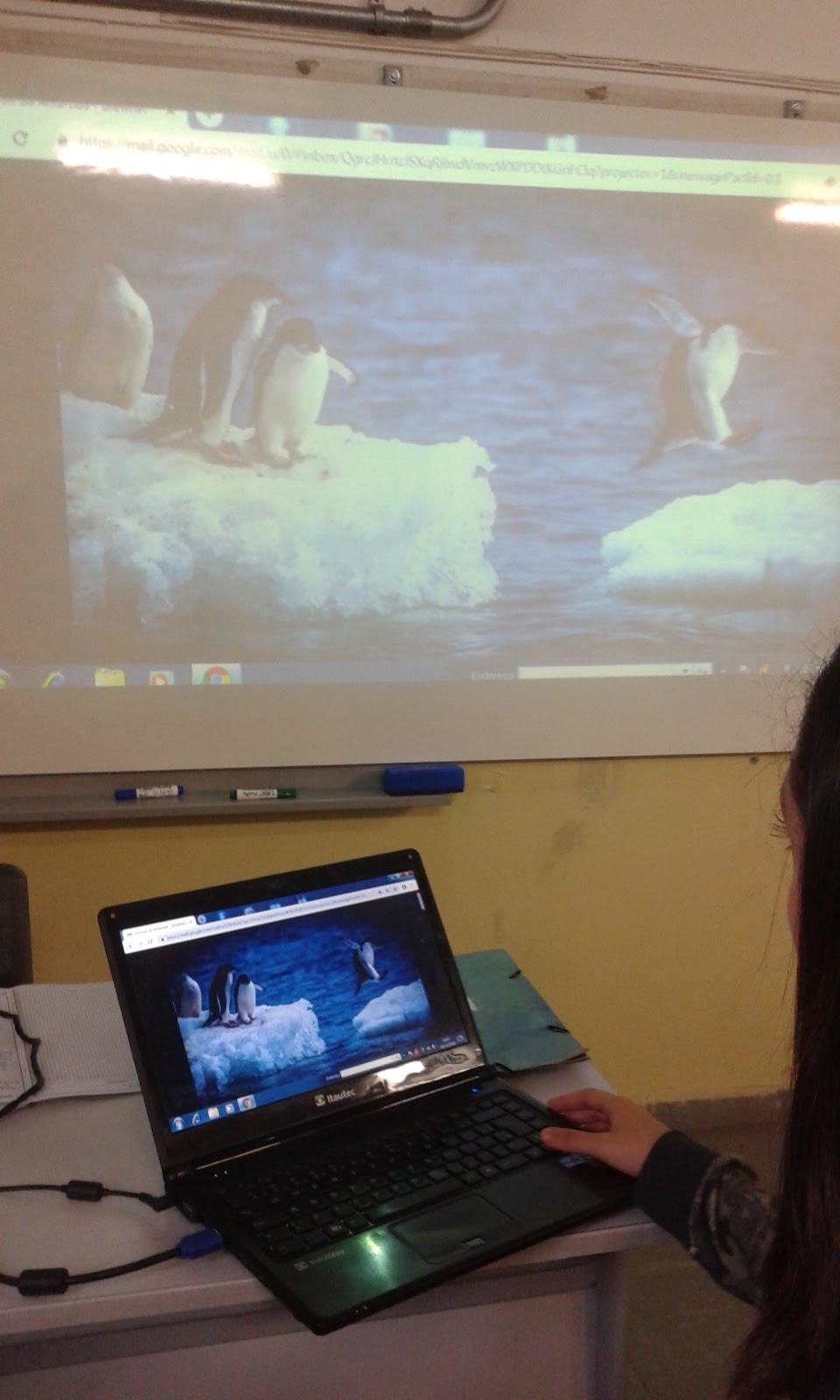 Antártica no Ensino Médio Integral