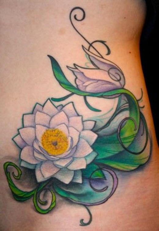 Tatuagem Lotus