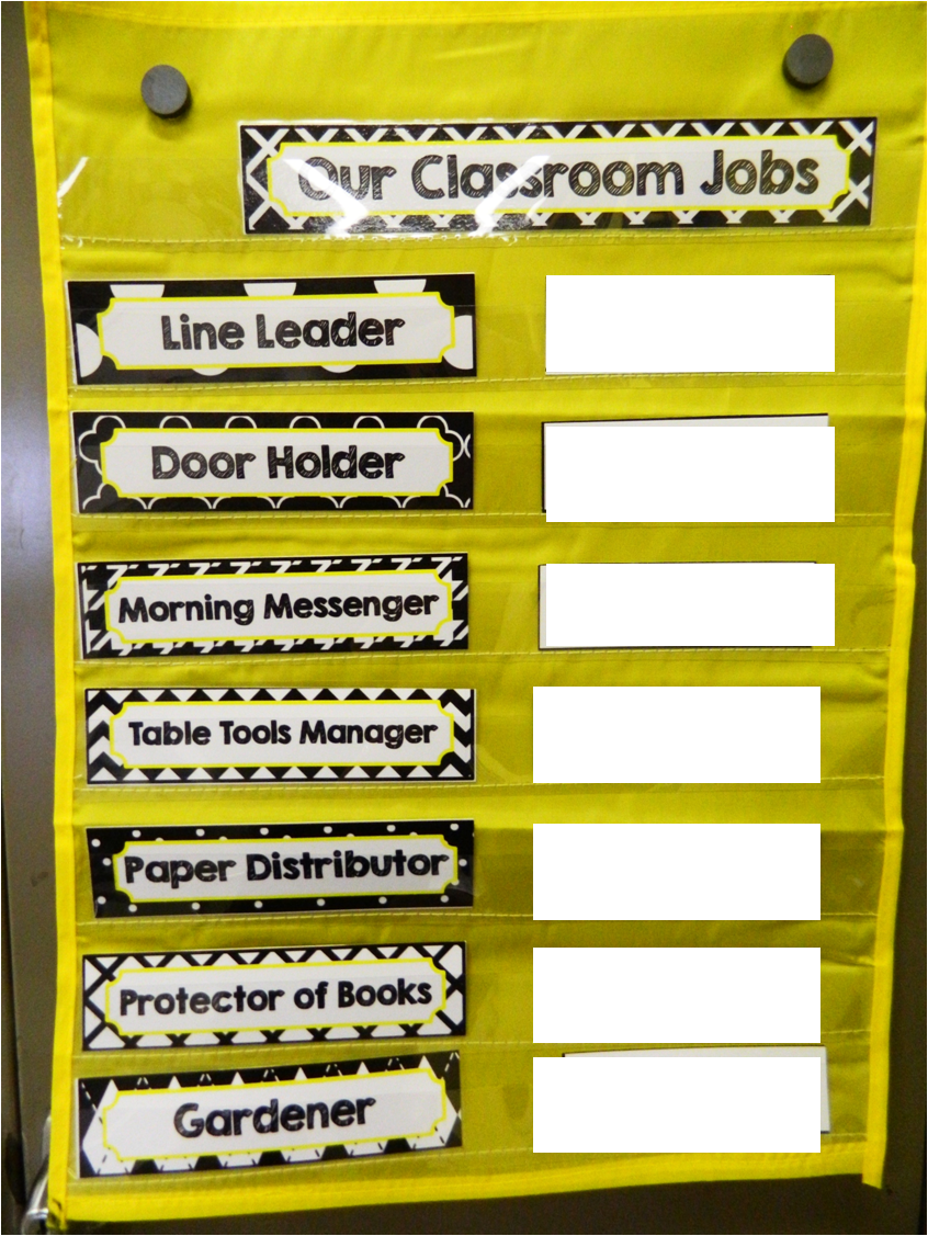 Classroom Job Ideas 3rd Grade : Th grade classroom jobs the brown bag teacher