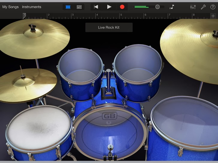 GarageBand App iTunes App By Apple - FreeApps.ws