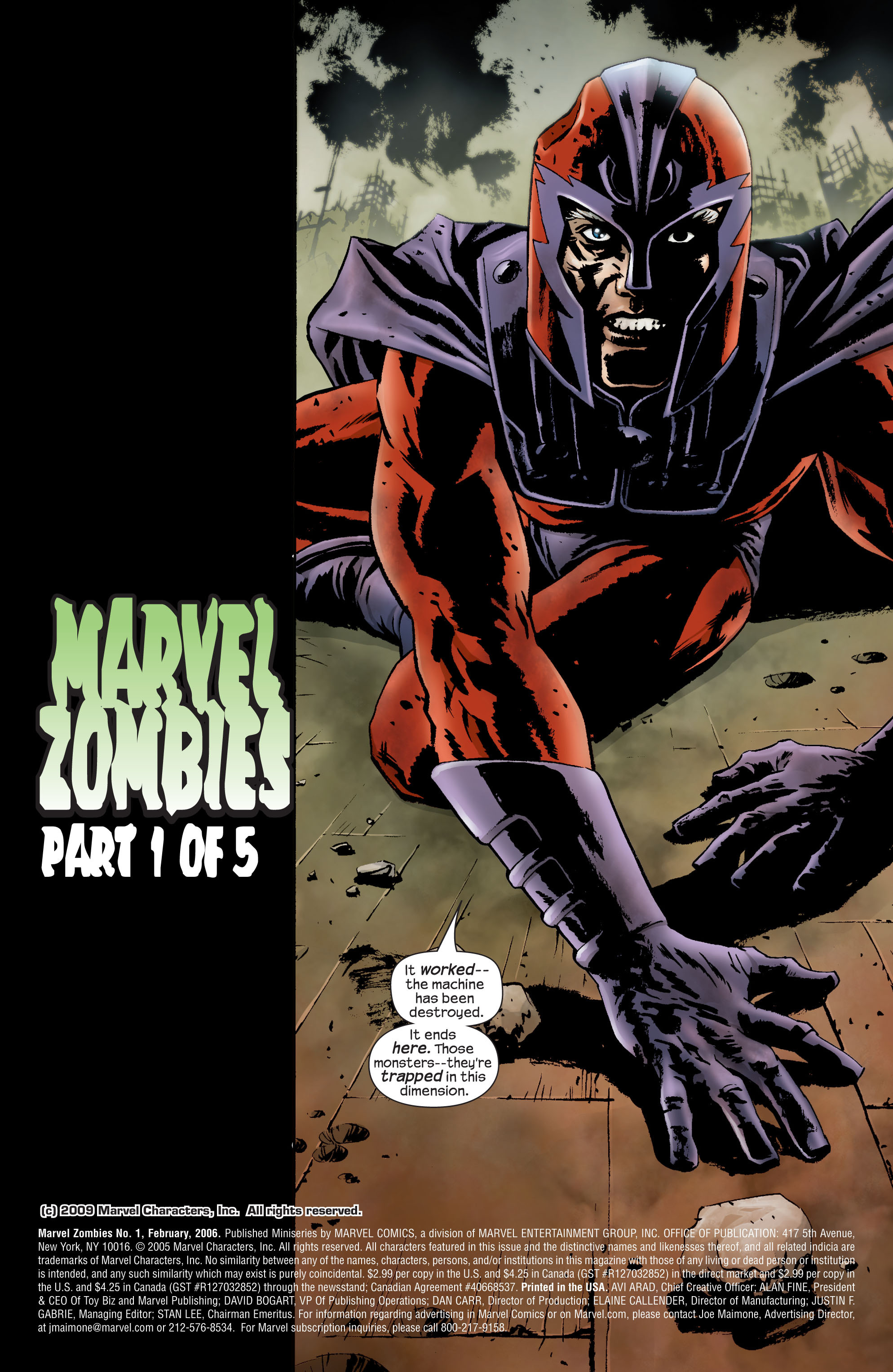 Marvel Zombies (2006) Issue #1 #1 - English 2