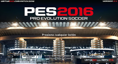 Patch PES 2016 Terbaru dari VirtuaRED Patch 0.4