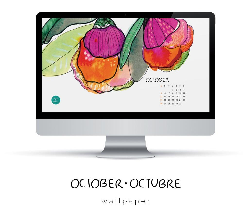 October - Octubre Wallpaper