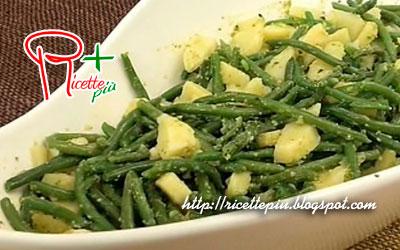 Fagiolini e Patate al Pesto di Cotto e Mangiato
