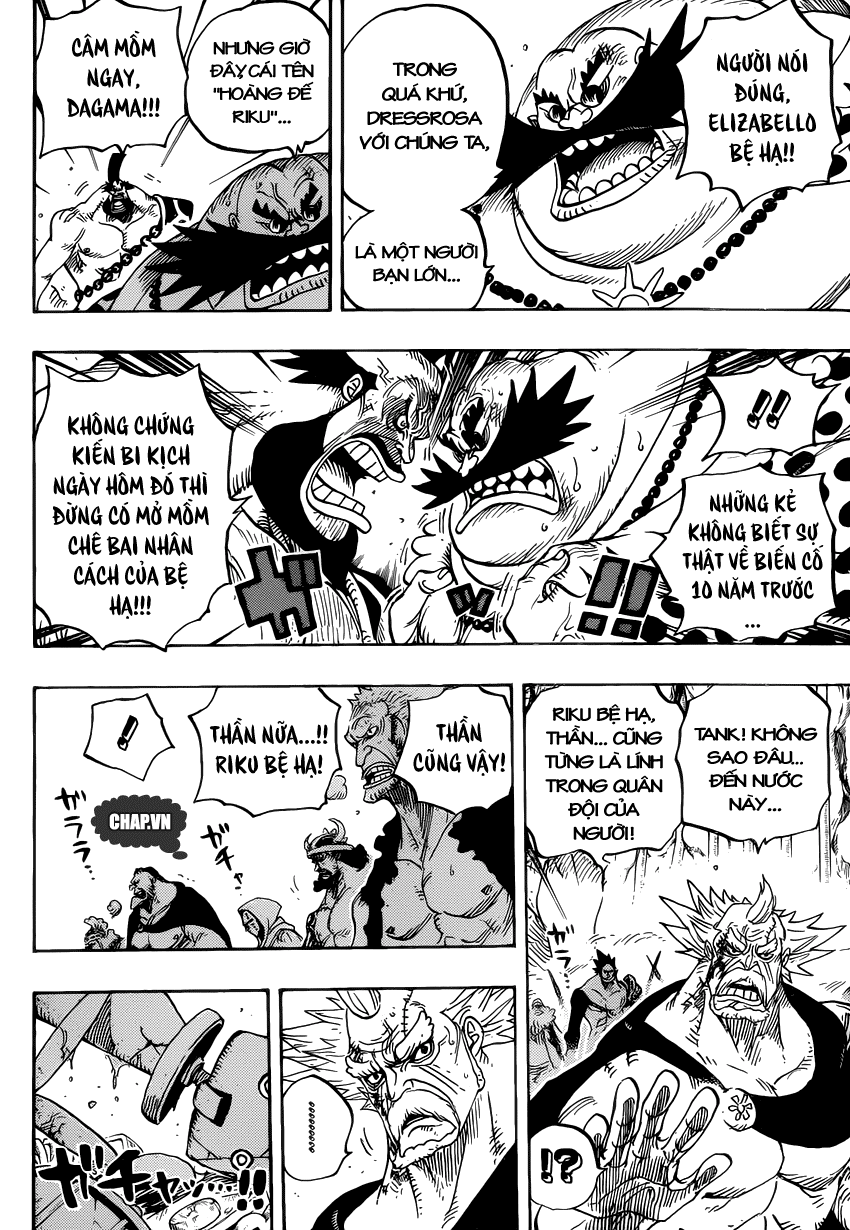 One Piece Chapter 726: Gia tộc Riku 008
