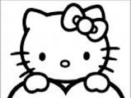 Hello Kitty And Friends Coloring Pages Free
