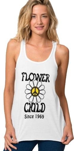 Custom Flower Child T-shirt