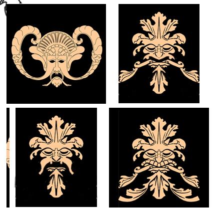 Keeper RL mask and logo concepts 3