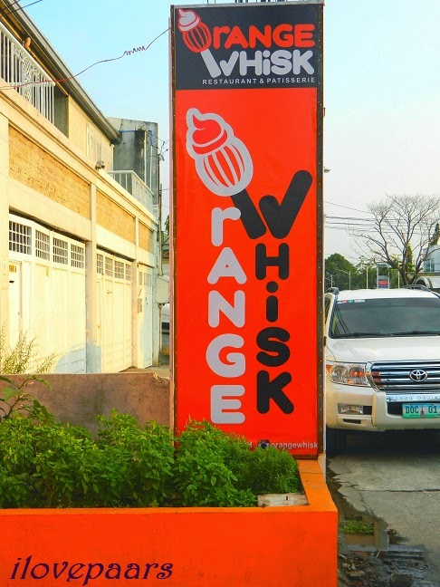Savory Dish and Sweets Overload in Orange Whisk - BF Aguirre