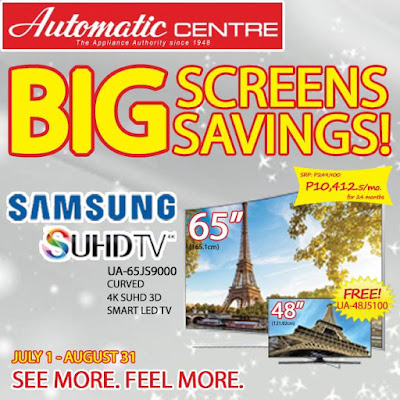 Automatic Centre: BIG Screens, Big Savings!