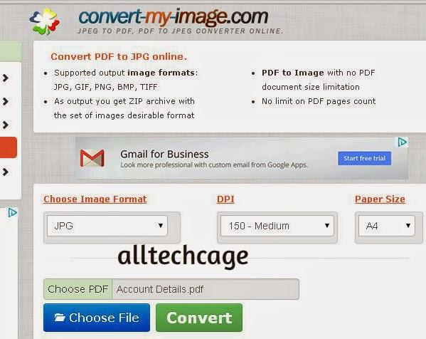 Как сделать pdf в jpg онлайн