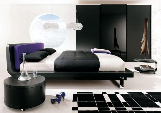 Dekoratif+Yatak+Odas%25C4%25B1+%25C3%2596rnekleri Yatak Odası Tasarımları