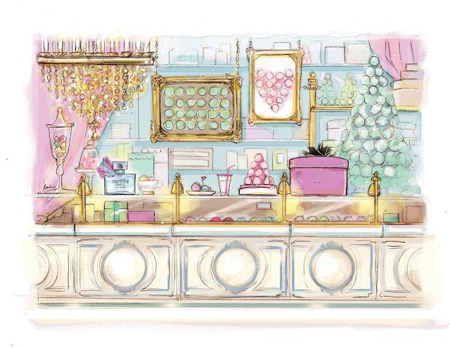 Something Sweet Lise Watier illustration