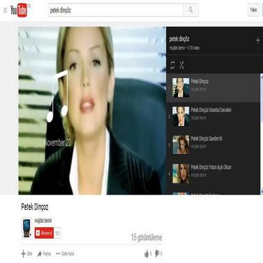 youtube com - petek dinçöz