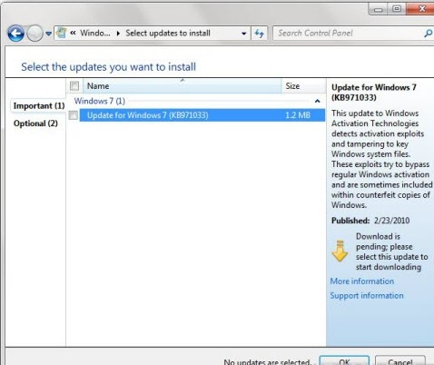 bypass windows 7 professional activation
