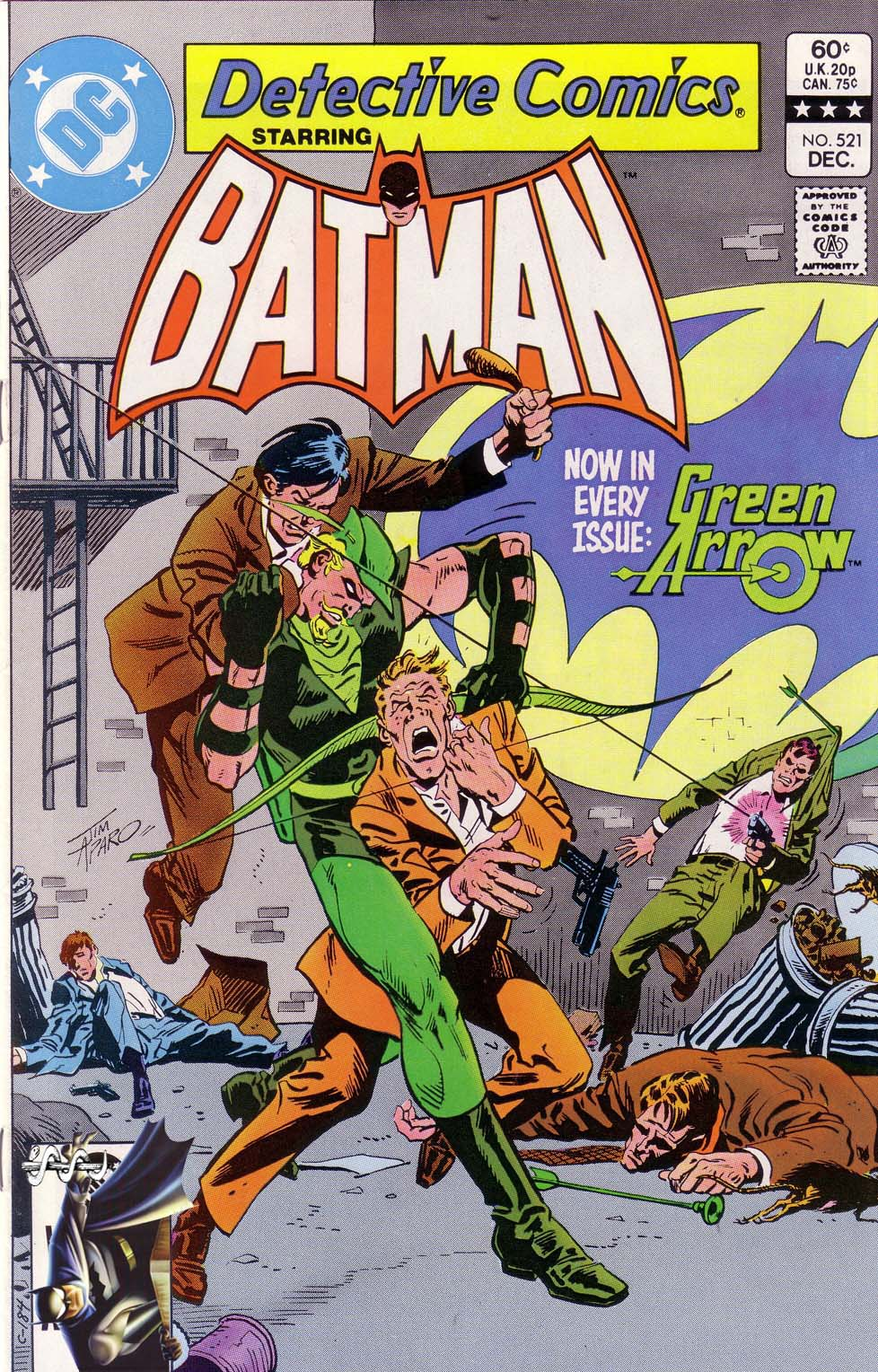 Detective Comics (1937) Issue #521 Page 1