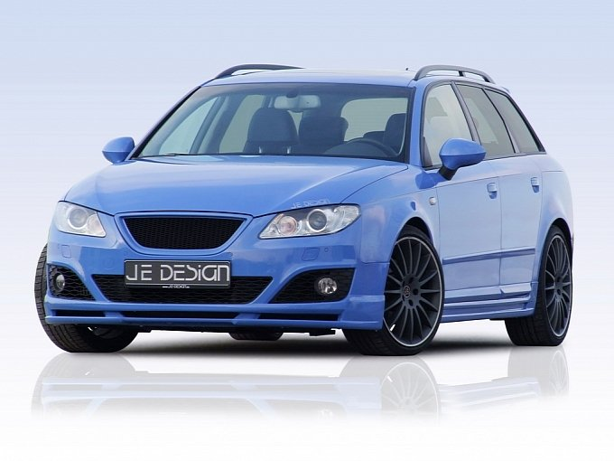 seat exeo st tuning by je design new car used car reviews. Black Bedroom Furniture Sets. Home Design Ideas