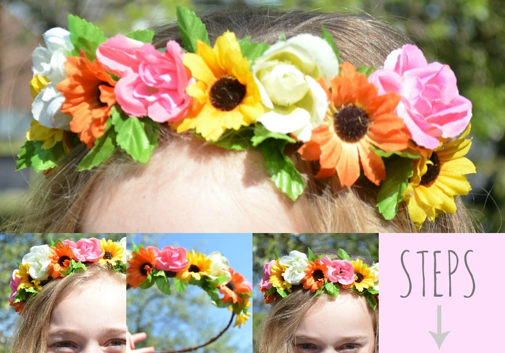 How to Make Your Own Flower Crown With How my Flower Crown