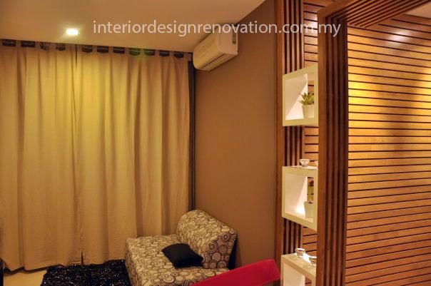 living room carpentry renovation solid wood cheras condominium renovation design build