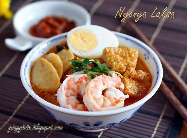 Nyonya Laksa / Singapore Laksa 娘惹叻沙/新加坡叻沙