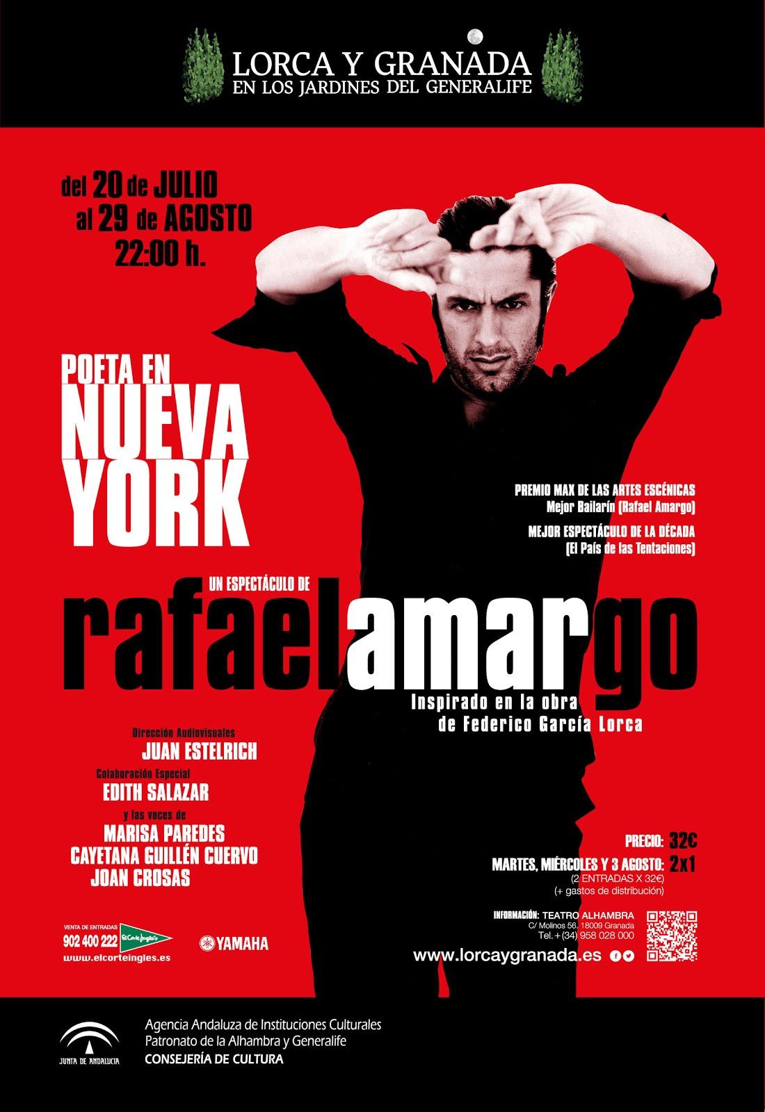"""POEMAS MUSICADOS DE """"POETA EN NUEVA YORK"""""""