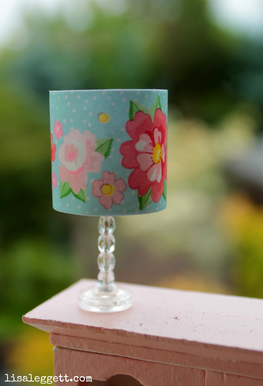 Miniature Lamp by Lisa Leggett