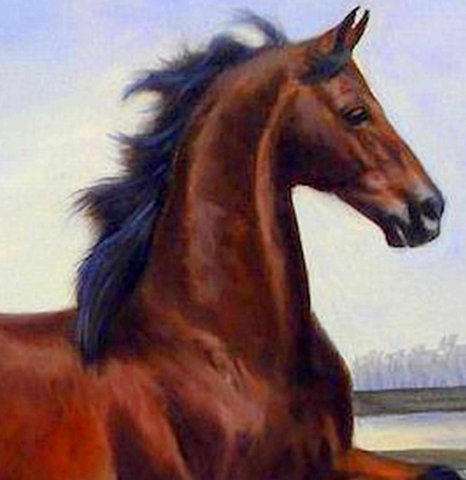 Im genes arte pinturas caballos pintados al leo jeanne for Cuadros pintados al oleo