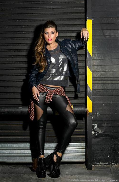 Moda otoño invierno 2014. AF Jeans camperas de mujer otoño invierno 2014.